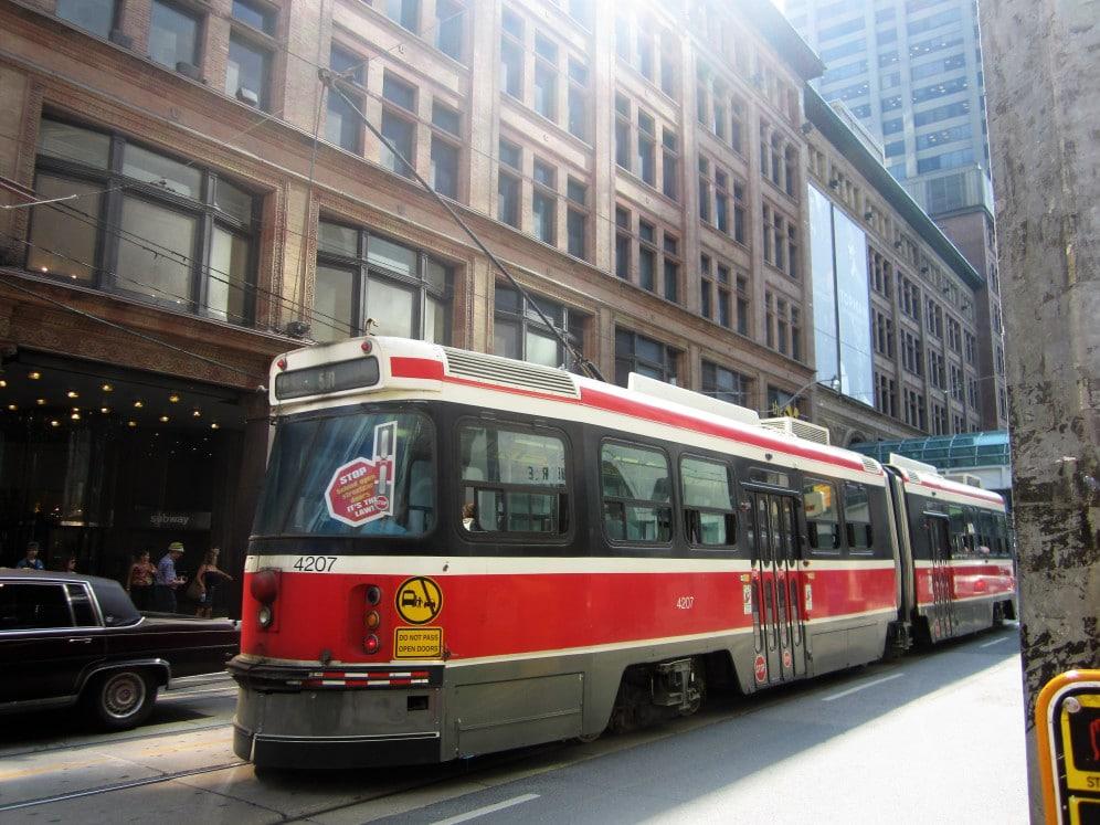 Transport innerhalb Kanada