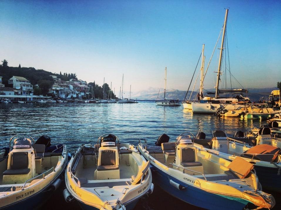 Kassiopi in Korfu