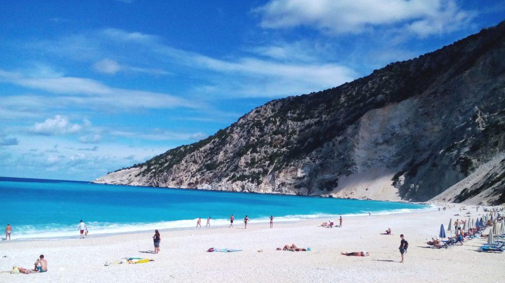 Der Strand von Kefalonia