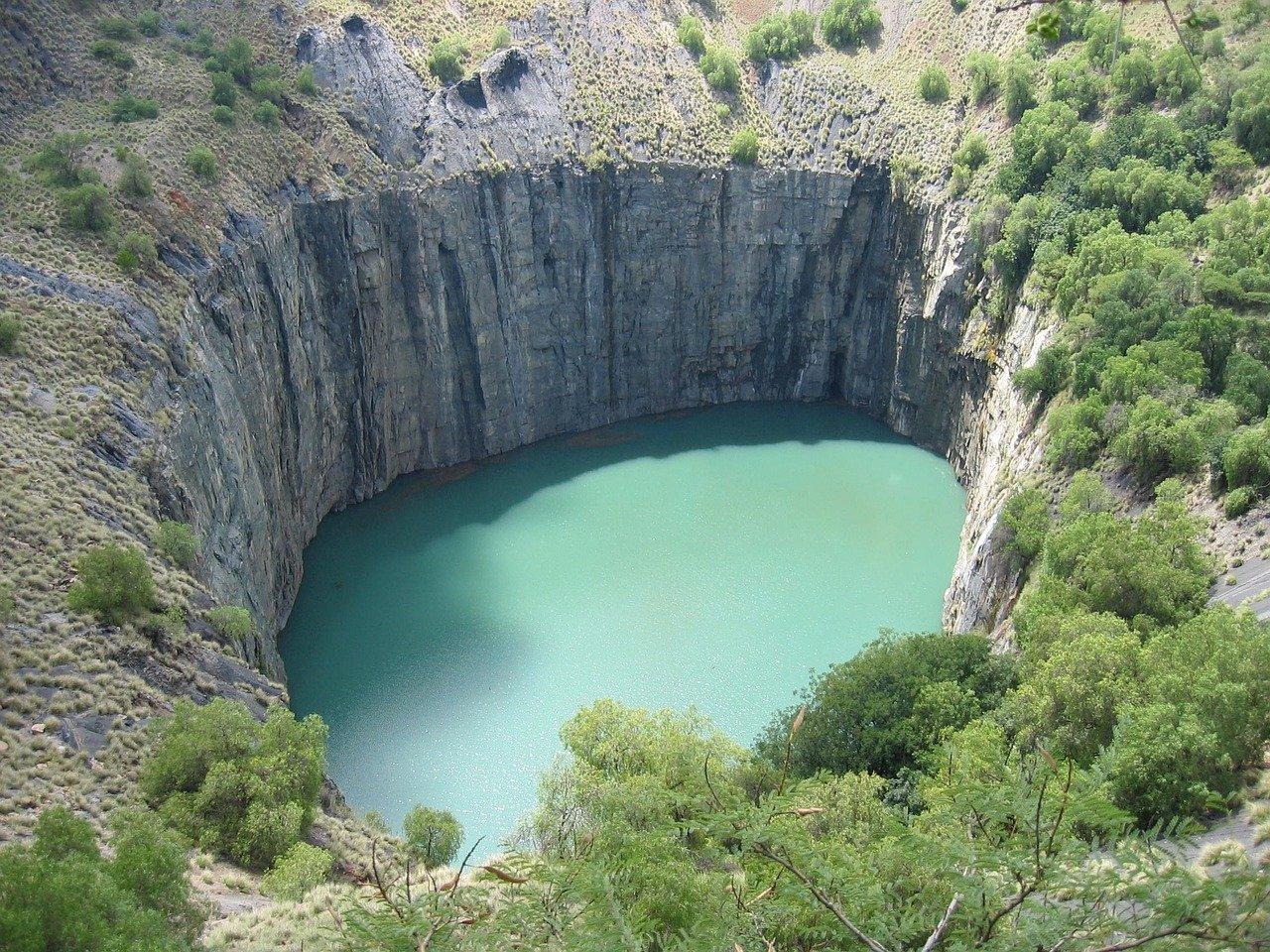 Big Hole (das größe Loch) in Südafrika