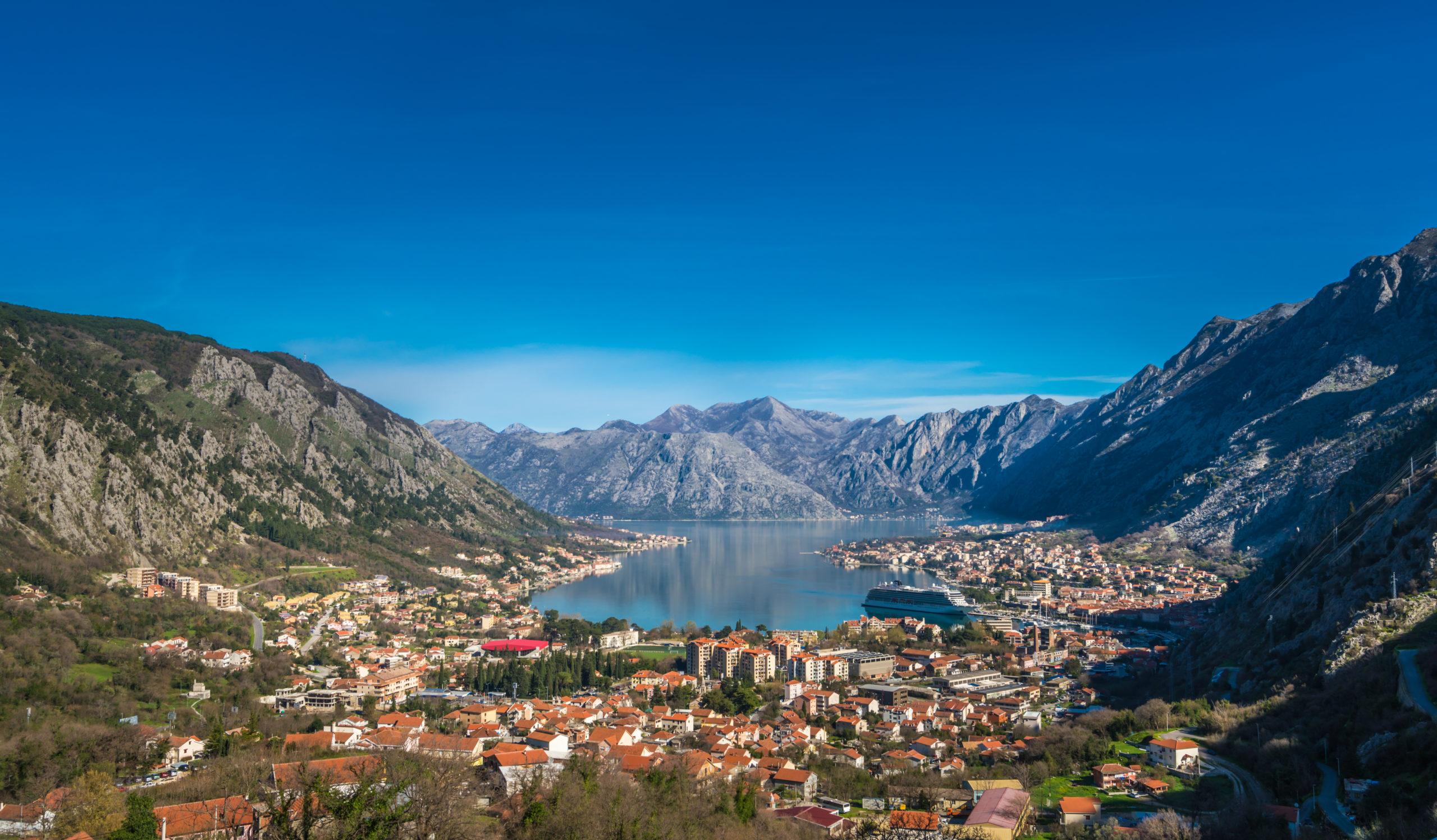 Bucht in Kotor
