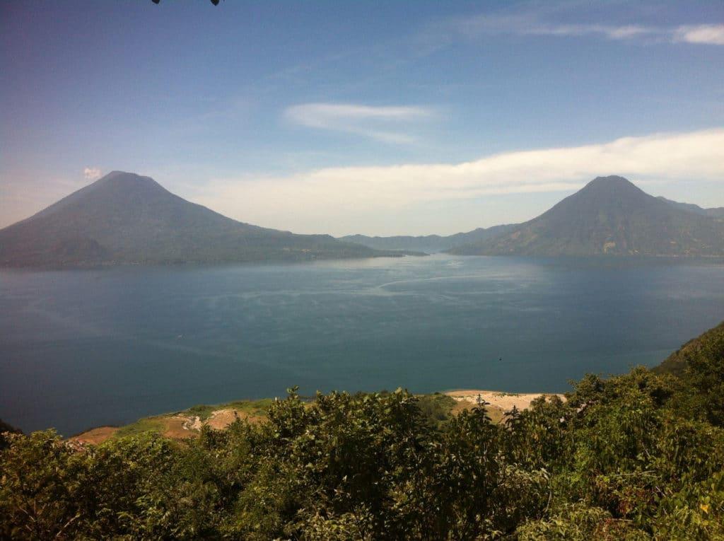 Lago de Atitlan, Backpacking in Guatemala
