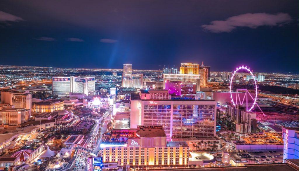 USA, Las Vegas Backpacker