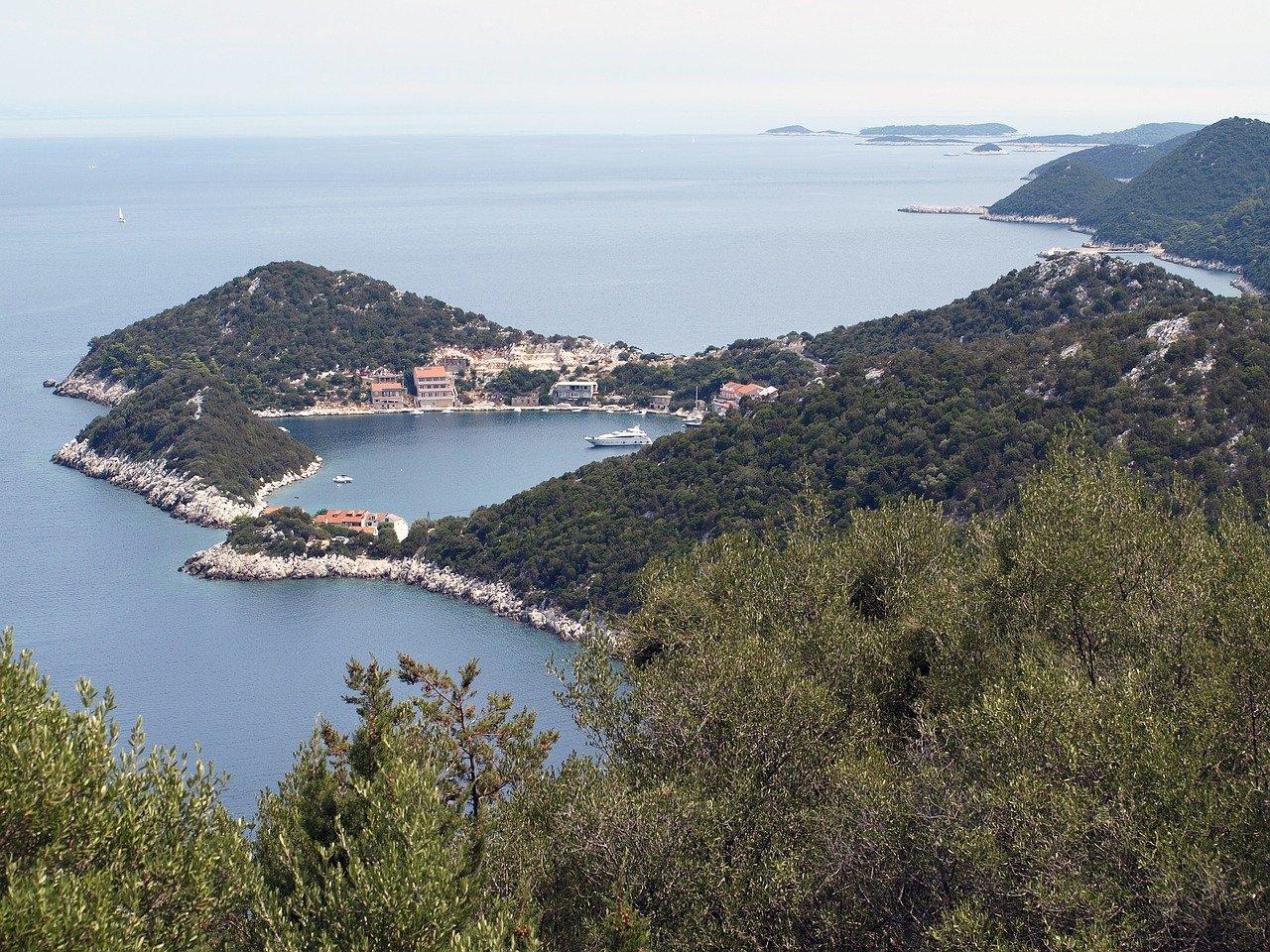 Kroatische Insel Lastovo
