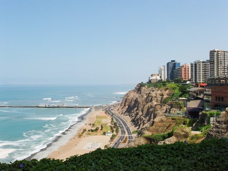 Die schönsten Strände Lima, Peru