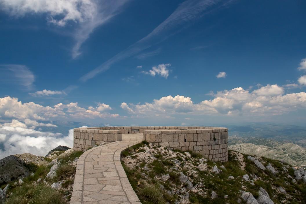Lovćen-Nationalpark nicht weit von Kotor
