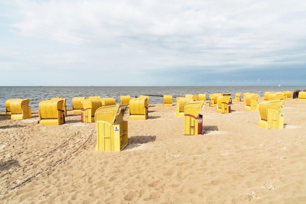 Timmendorfer Strand, Lübecker Bucht in Deutschland