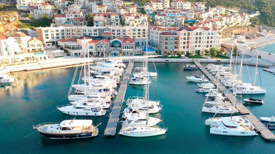 Luštica, Tor zur Bucht von Kotor