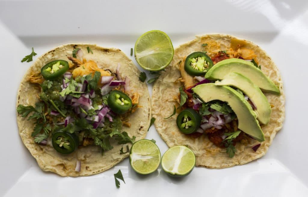 Typischce Küche in Mexiko