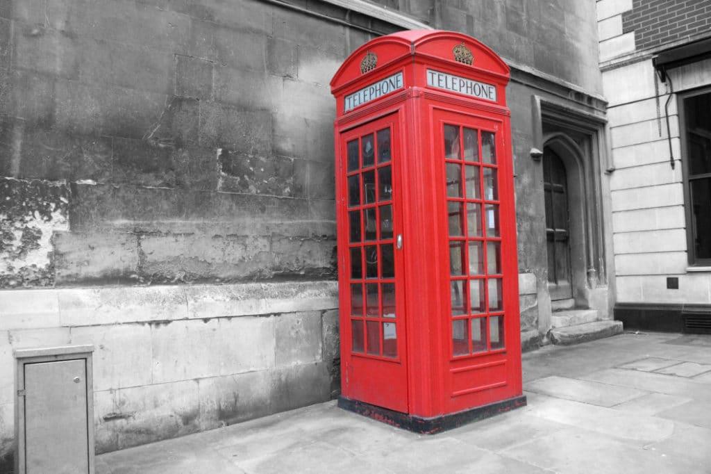 Mobilfunk und Internet in England