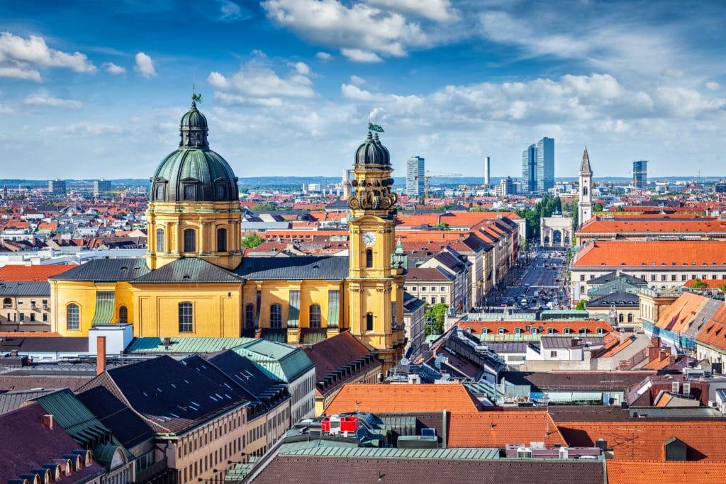 München, Bayern Hauptstadt