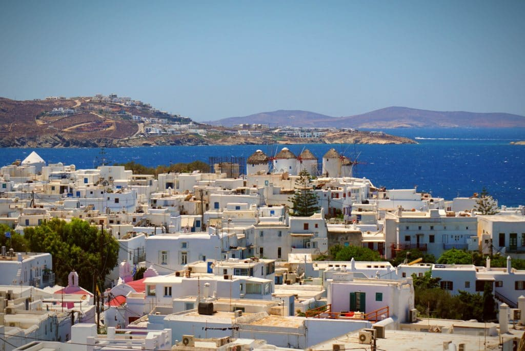 Mykonos Backpacking, Griechenland