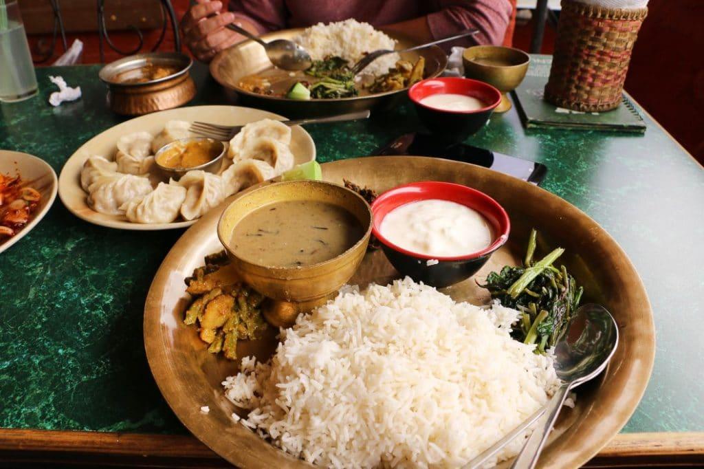 Tyypische_Küche_Nepal