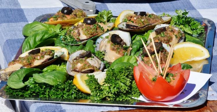 Grünlipp-Muscheln - Typische Küche in Neuseeland