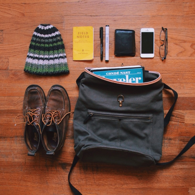 Backpack einpacken