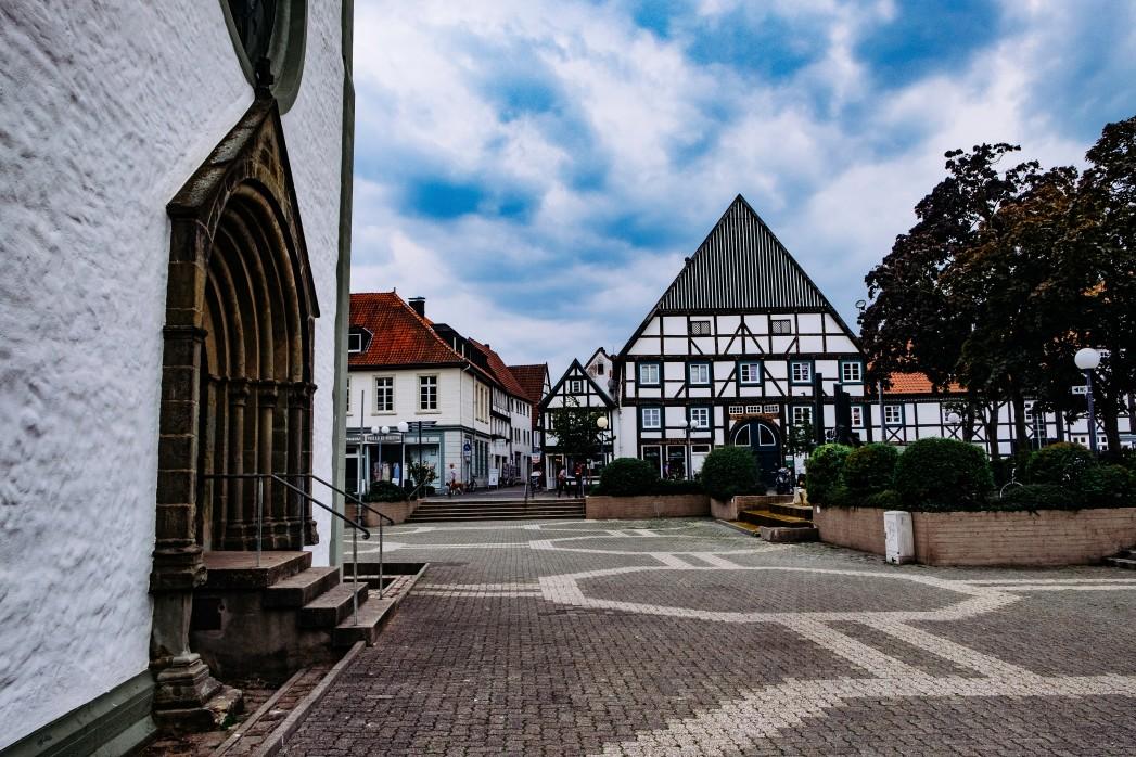 Der schöne Stadt in NRW Paderborn
