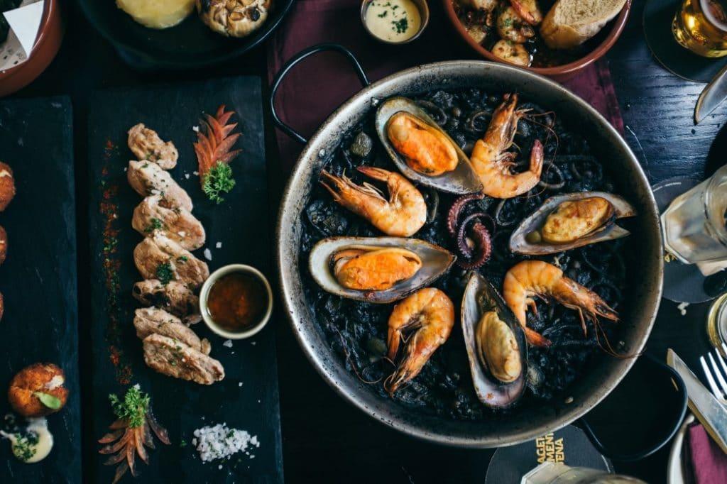 Küche in Spanien, Paella