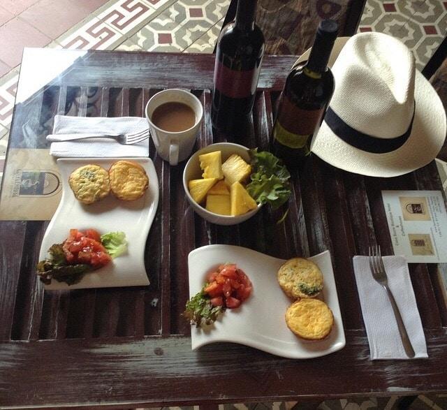 Typische Küche in Panama