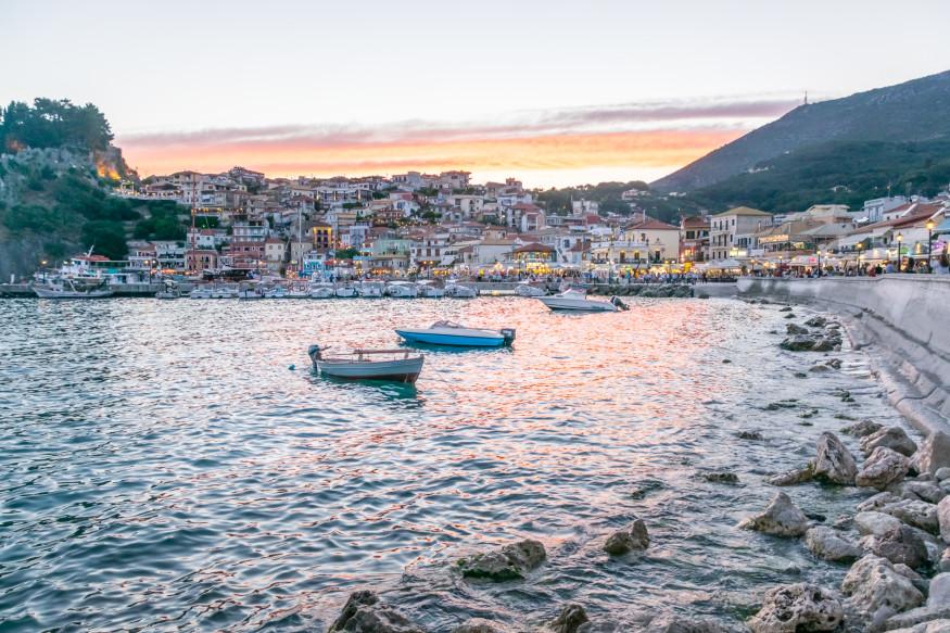 Parga, Griechischer Insel