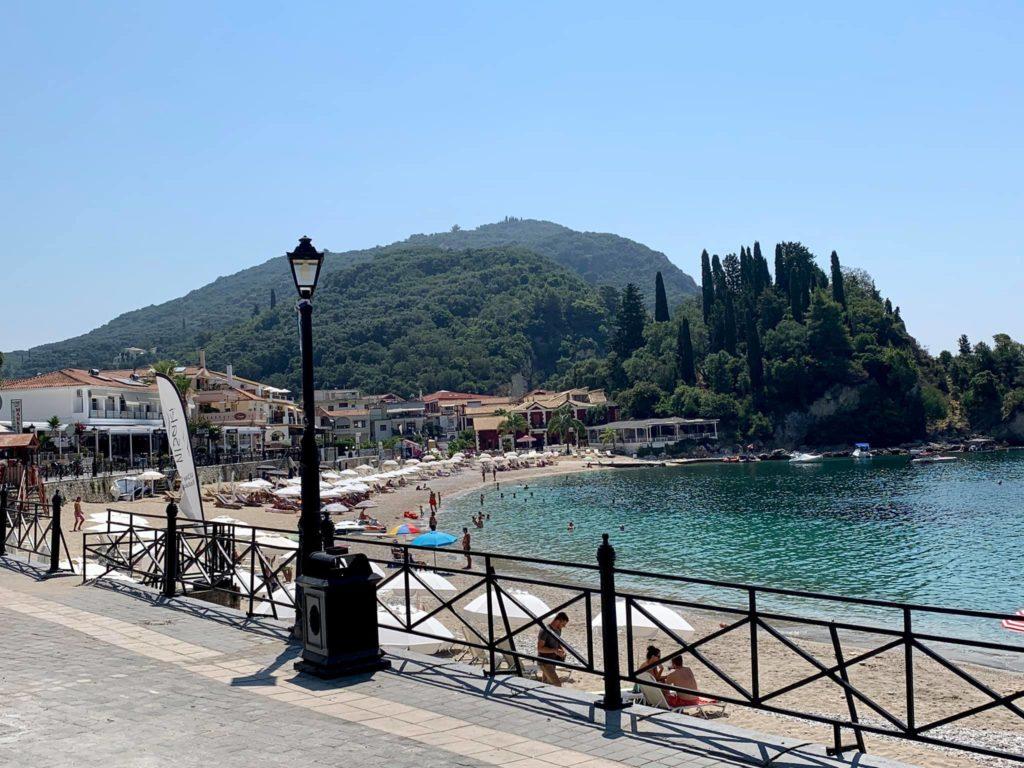 am Strand im Pargo, Griechischer Insel