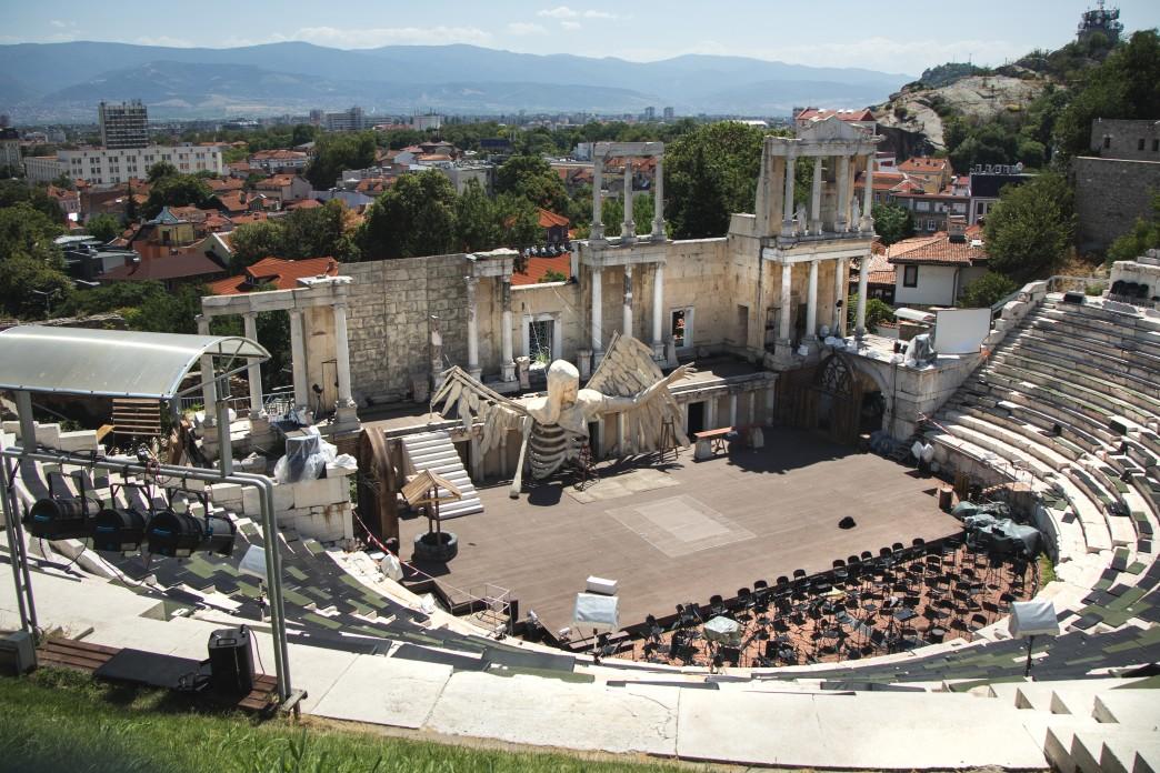 Antike Theater in Plovdiv- Bulgarien