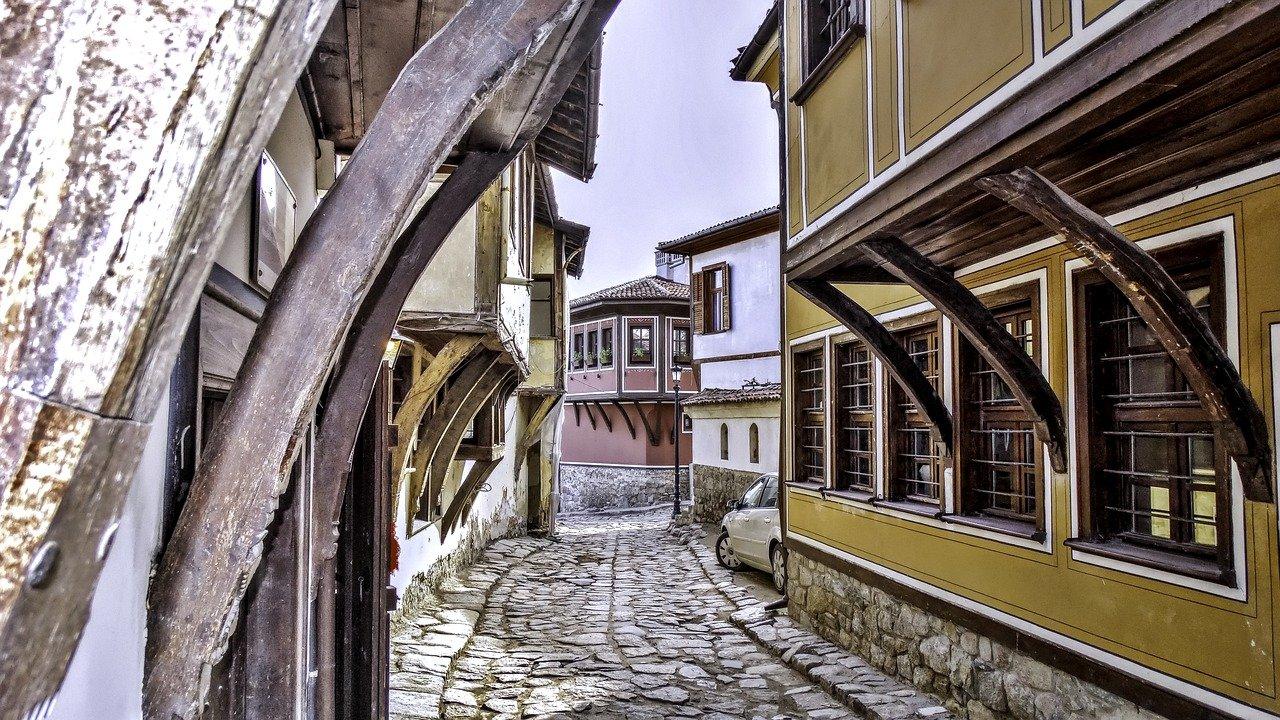 Plowdiw Altstadt