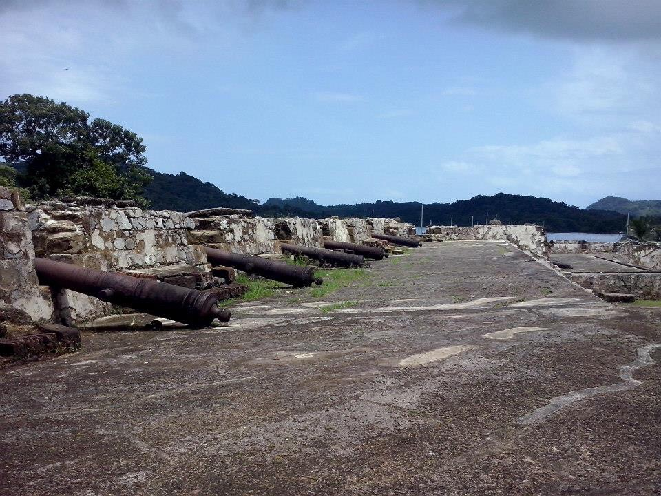 Der Festungshafen von Portobelo, Panama