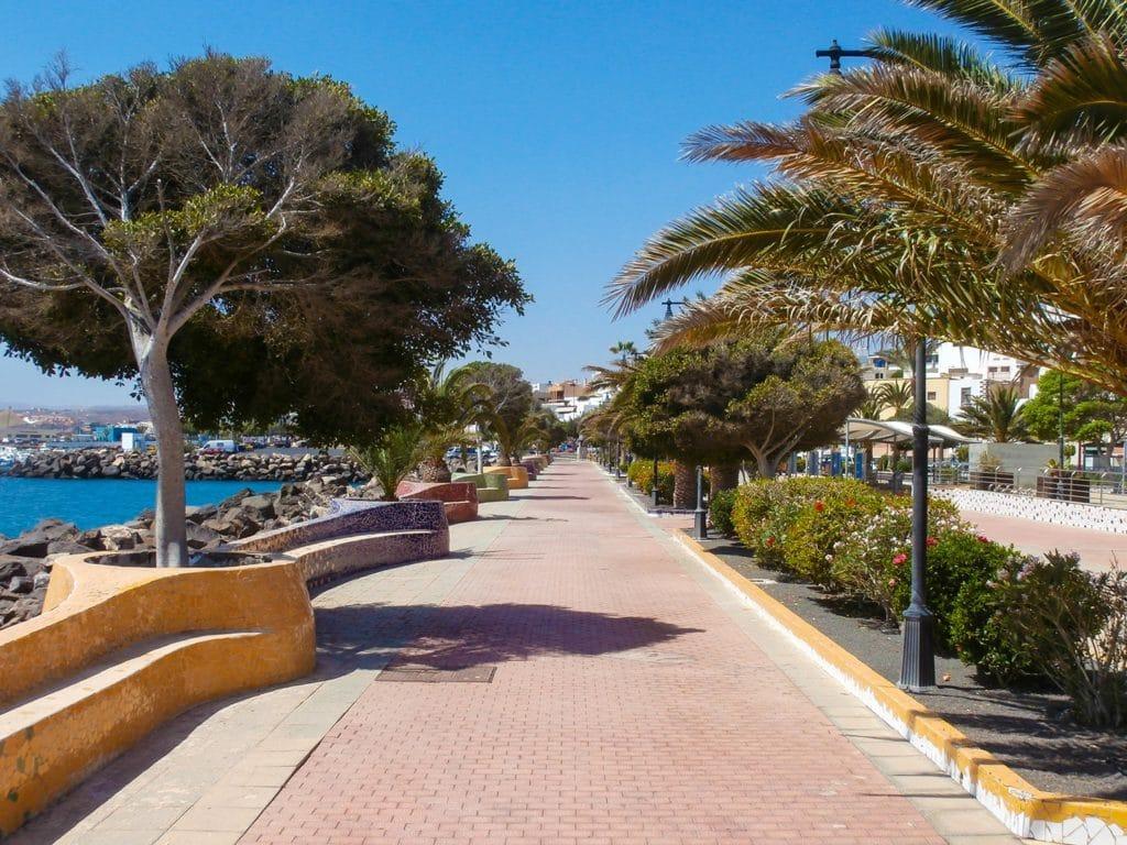 Backpacking in Puerto del Rosario,Fuerteventura