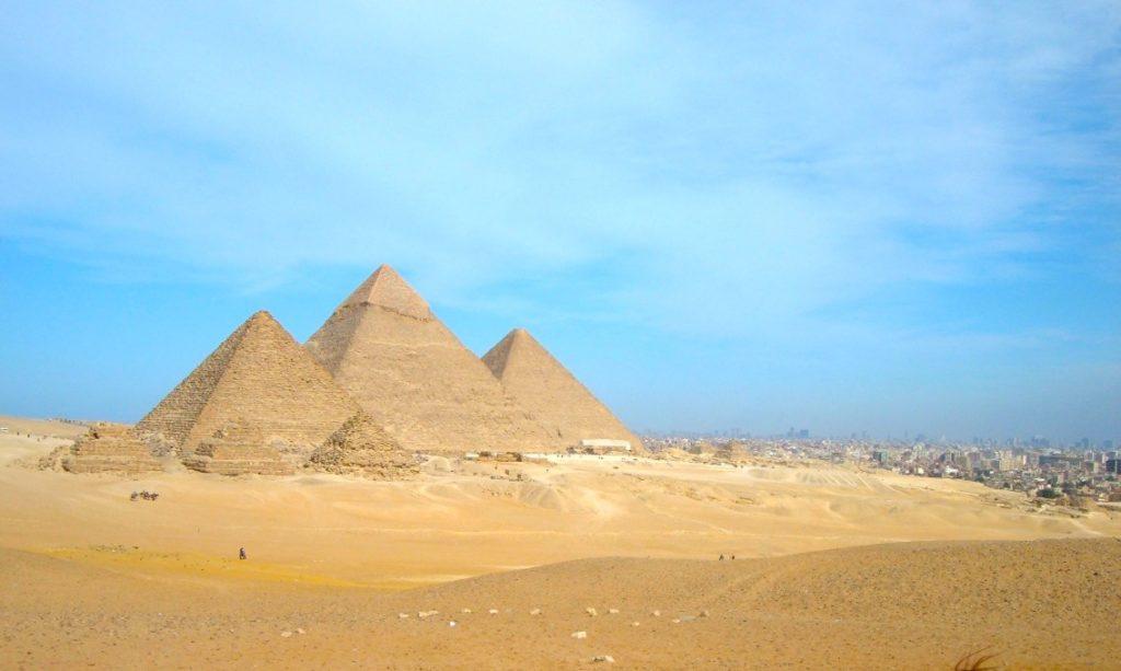 Pyramiden, Ägypten