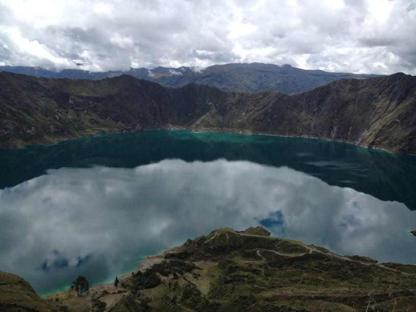 Backpacking in Quilotoa, Ecuador