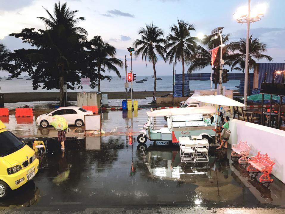 Regenzeit Faktoren in Thailand