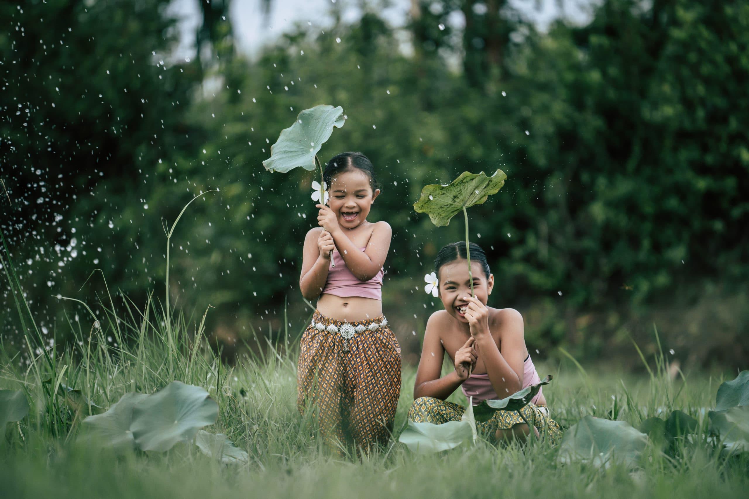 Regenzeit in Thailand