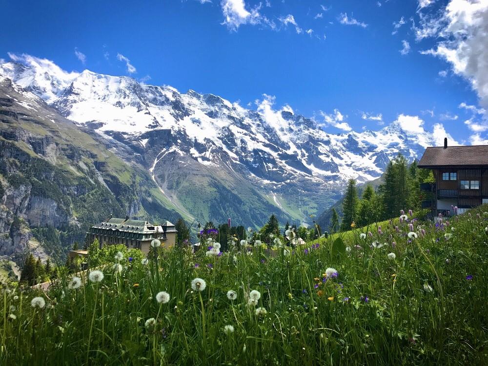 Beste Resiezeit in der Schweiz für Backpackers
