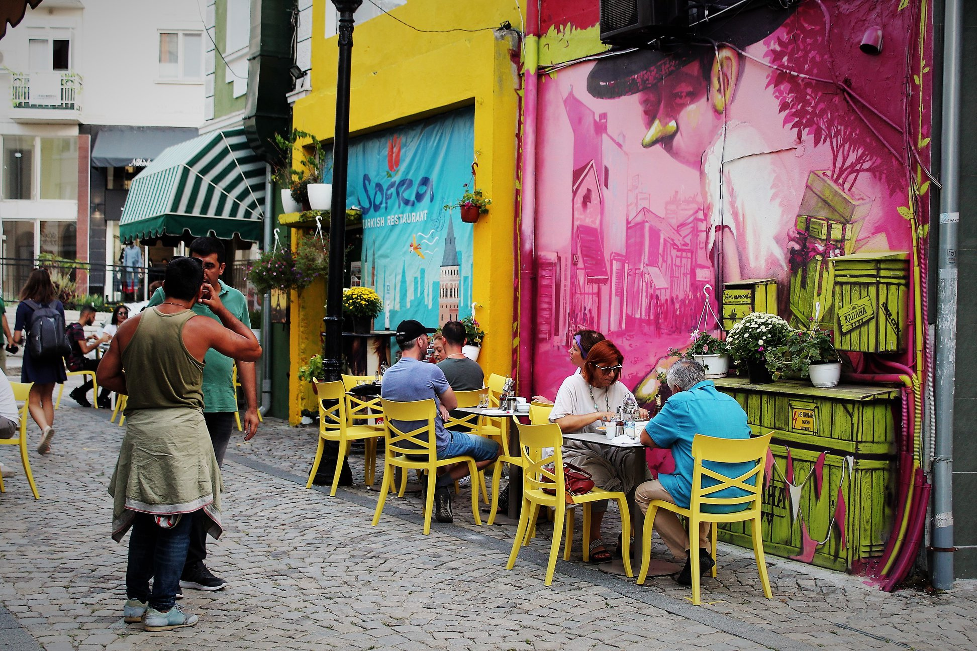 Restaurants und Cafes in Plovdiv (Bulgarien)