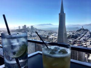 Zeit für einen Kaffee in San Francisco