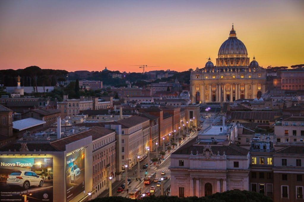 Einreise in Italien, Rome