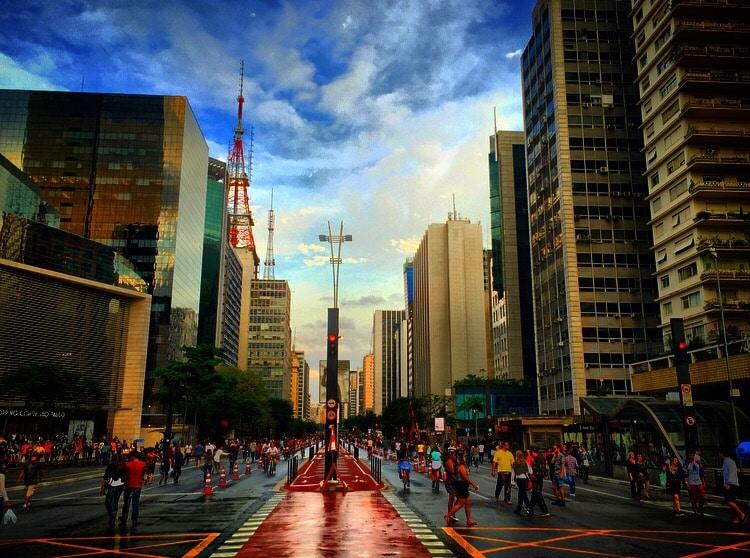 Sao Paulo, Brazilien