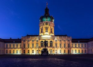 Schloss Charlottenburg in der Nacht