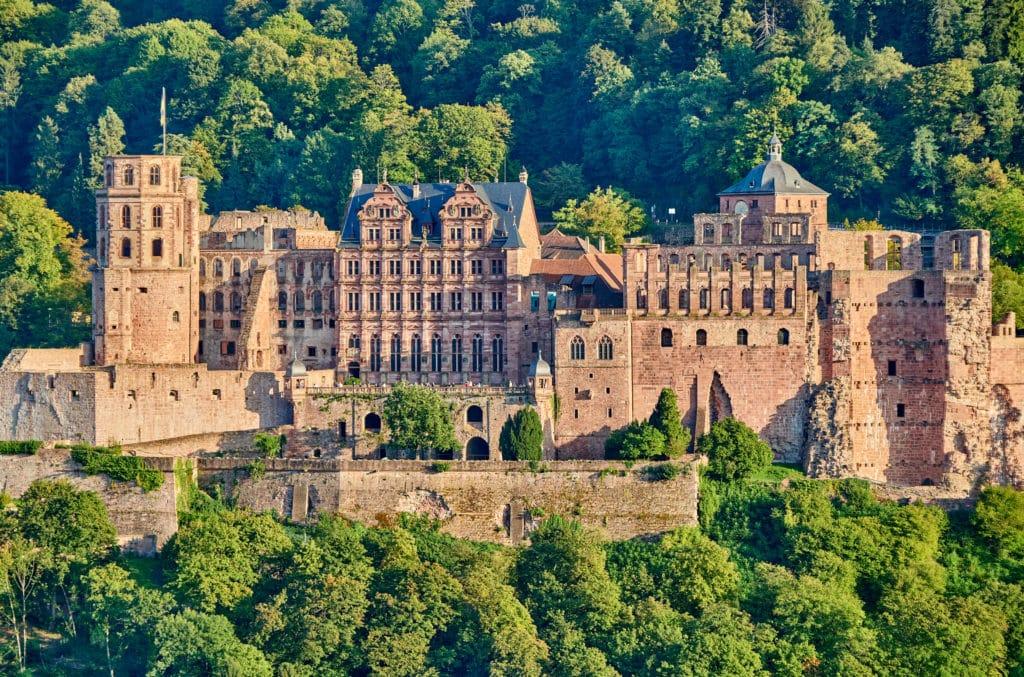 Schloss Heidelberg in Deutschland