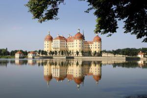 Schloss Moritzburg, Dresden in Deutschland