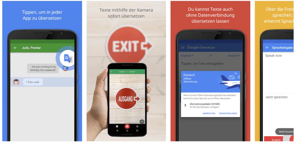 Google Übersetzer App