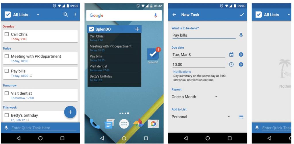 SplenDO To-Do-Liste App