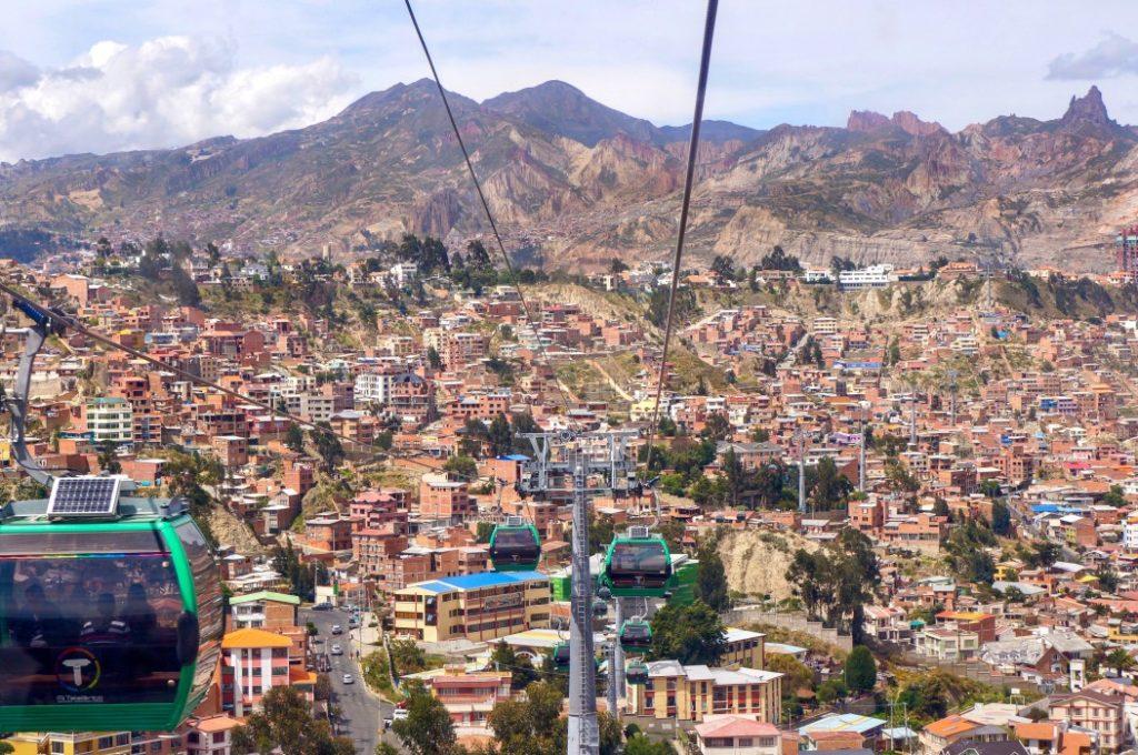 Sicherheit in Bolivien