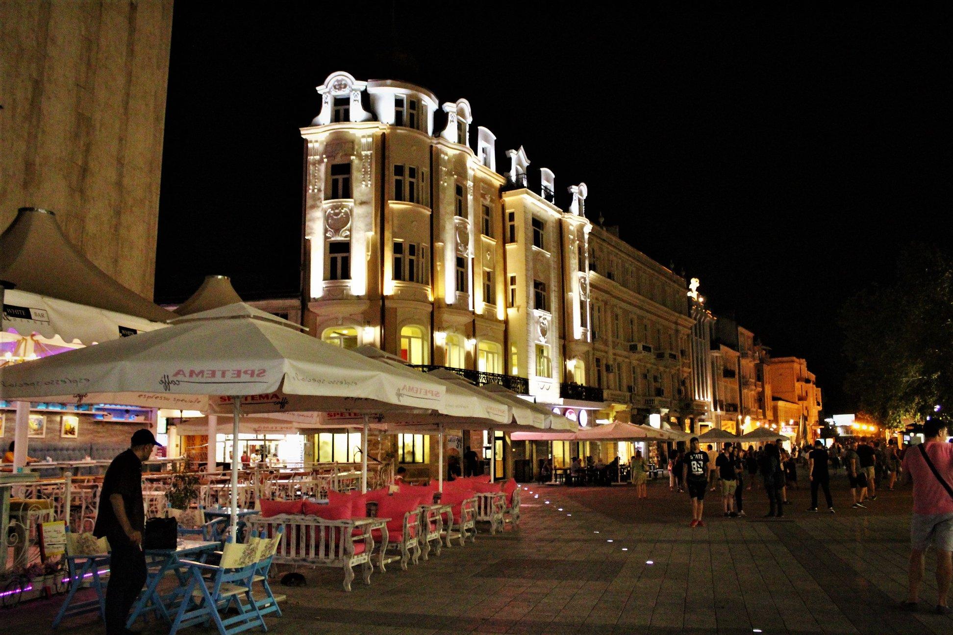 Plovdiv über die Nacht - ein sicherer Ort