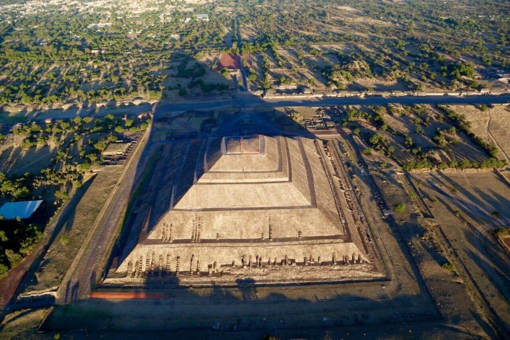 Die Sonnenpyramiden in Mexiko