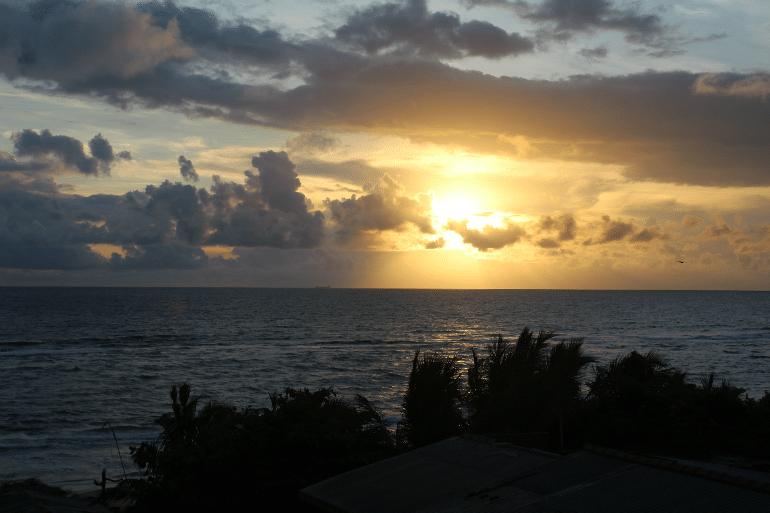 Sonnenuntergang Colombo, Sri Lanka