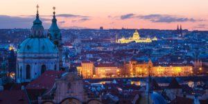 Prag_Sonnenuntergang