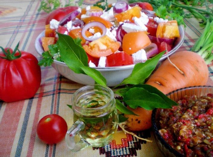 Schopska Salat in Plowdiw