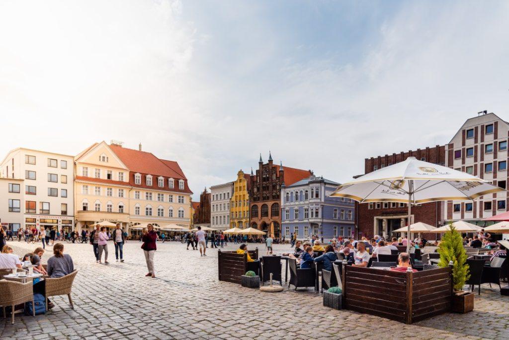 Stralsund, Vorpommern, Deutschland