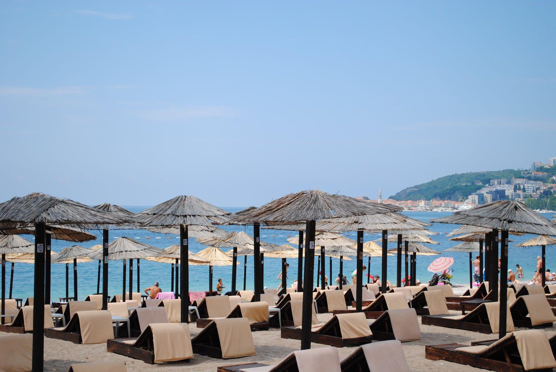 Jaz Strand in Montenegro